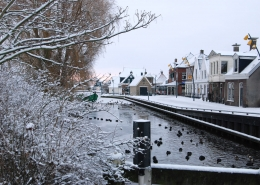 Heeg in de winter